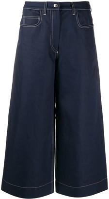 Kenzo Wide Leg Denim Culottes