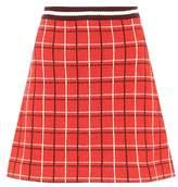 Miu Miu Knitted virgin wool skirt