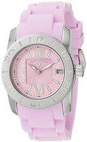 Swiss Legend Women's 10114-015 Commander Pink Polyurethane and Stainless Steel Watch