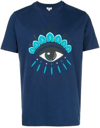 Kenzo front eye printed T-shirt