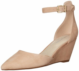 Kenneth Cole New York Women Ellis Wedge Pump with Ankle Strap