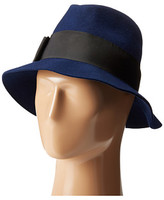 Kate Spade Classic Fedora with Grosgrain Tab Bow