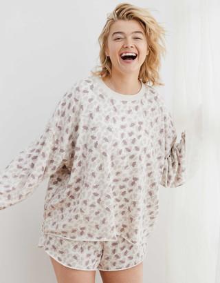 aerie Sunday Soft Oversized Sweatshirt