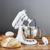 Crate & Barrel KitchenAid ® Artisan White Mini Mixer with Flex Edge Beater