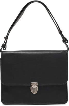 Ann Demeulemeester Textured-leather Shoulder Bag