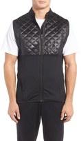 adidas Men's Climaheat Quilt Panel Performance Vest