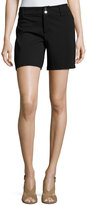 MICHAEL Michael Kors Ponté Straight-Leg Shorts, Black