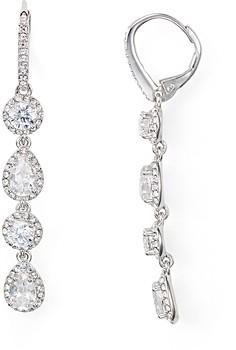 Nadri Leverback Earrings