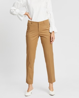 Banana Republic Ryan Brushed Solid Pants