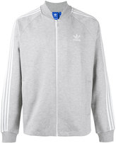 adidas branded bomber jacket - men - Cotton/Organic Cotton/Polyamide - XS