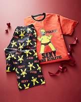 Personalised Simpsons Sexy Pyjamas