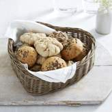The White Company Heart Shaped Bread Basket