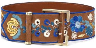 Etro Embroidered Wide Belt