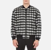 Alexander Wang Men's Slouchy Bomber Jacket Black/White