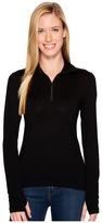 Icebreaker Tech Top Long Sleeve Half Zip Women's Long Sleeve Pullover