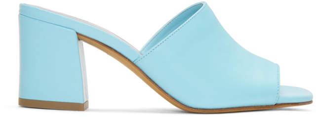 Maryam Nassir Zadeh Blue Mar Mules