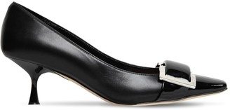 Sergio Rossi 60mm Archive Leather Pumps