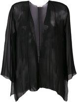 Halston lightweight jacket - women - Silk - M/L
