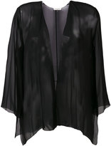 Halston lightweight jacket - women - Silk - XS/S