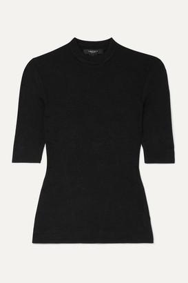 Twenty Montreal Mackay Ribbed Stretch-jersey T-shirt - Black