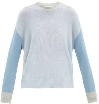 Marni Colour-block Cashmere Sweater - Blue Multi