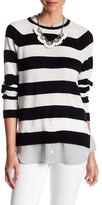 Joie Aisly Layer Cashmere Sweater