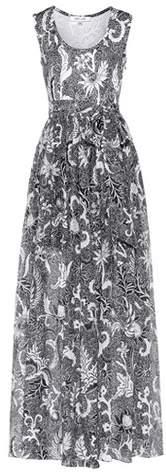 Diane von Furstenberg Serret paisley cotton and silk dress