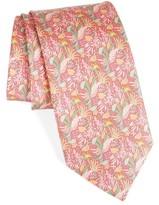 Salvatore Ferragamo Men's Tropical Print Silk Tie