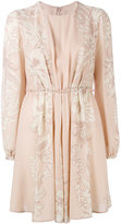 Valentino hibiscus print dress