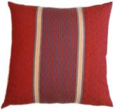 Flame Orange Fair Trade Dobby Pillow