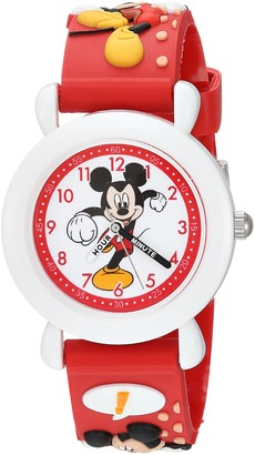 Disney Boys Mickey Mouse Analog-Quartz Watch with Plastic Strap