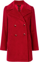 Etro classic double-breasted coat - women - Cotton/Viscose - 40
