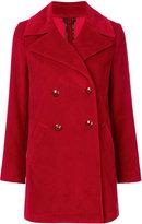 Etro classic double-breasted coat - women - Cotton/Viscose - 46