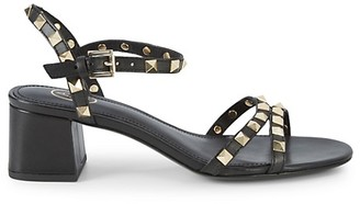 Ash Iggy Studded Leather Slingback Sandals