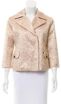 Nina Ricci Jacquard Button-Up Jacket