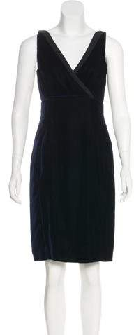 Prada Velvet Knee-Length Dress