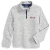 Vineyard Vines Shep Quarter Zip Knit Sweater (Toddler Boys & Little Boys)