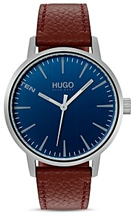 HUGO #Stand Blue Dial Watch, 40mm