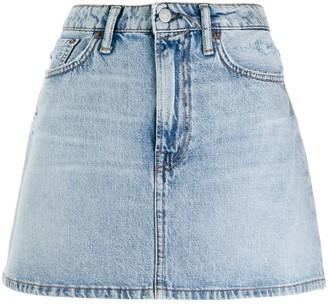 Acne Studios denim mini skirt