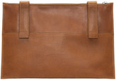 Maison Margiela Tan Leather Pouch