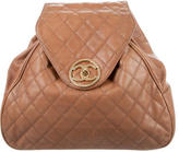 Chanel Quilted Caviar Backpack