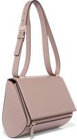 Givenchy Pandora Box Medium Textured-leather Shoulder Bag - Beige