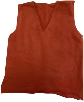 Lucien Pellat-Finet Lucien Pellat Finet Orange Cashmere Knitwear for Women