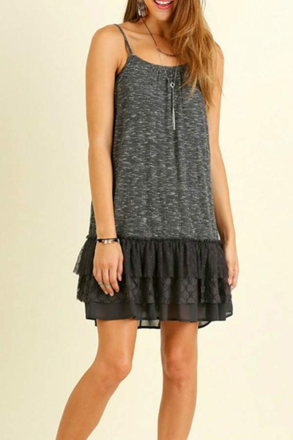 Umgee USA Lacy Layer Lover Dress
