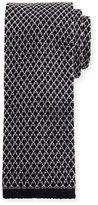 Tom Ford Gauze Knit Tie, Gray