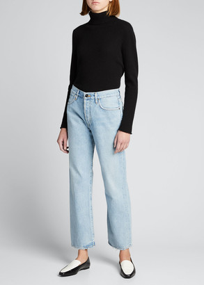 Gold Sign The Relaxed Straight-Leg Jeans