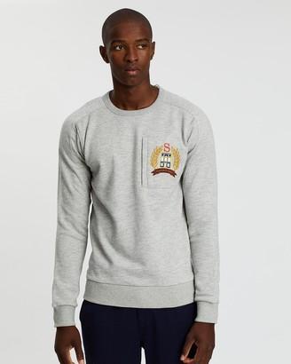 Scotch & Soda Melange Crew Neck Sweater