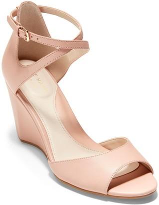 Cole Haan Sadie Open Toe Wedge Sandal