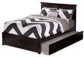 Atlantic Kids' Nantucket Espresso Full Flat-panel Footboard Platform Bed with Urban Trundle