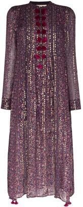 Figue Rumi printed kaftan dress